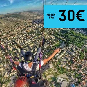 Tandem paragliding - Mostar